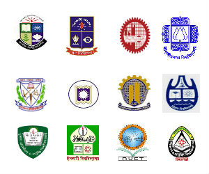 University wise application last dates for admission